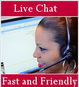 Live Chat : Fast and Friendly